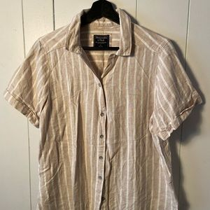 Abercrombie and Fitch Striped Shirt